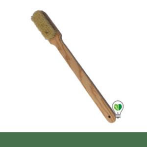 cepillo corporal largo, cepillado en seco