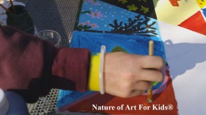 nature of art for kids