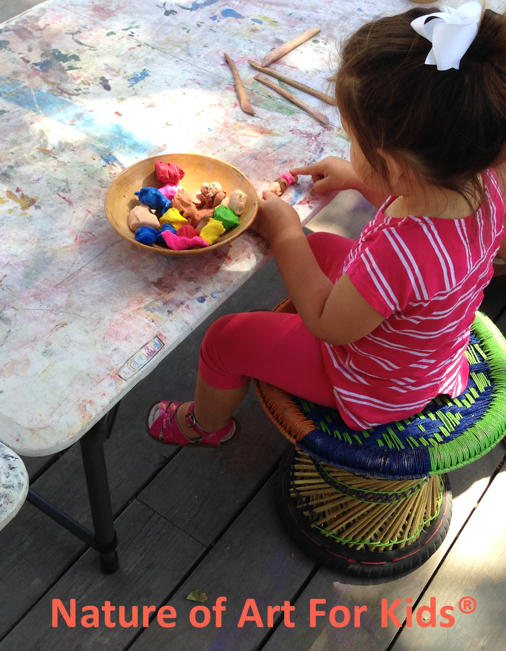 Playing With Clay Can Relieve Stress For Kids