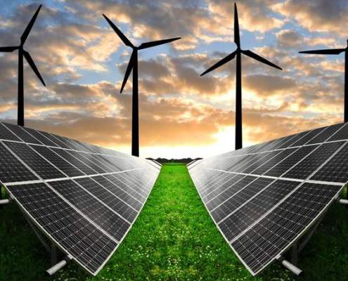 Investments in Solar and Wind Energy