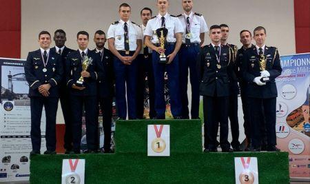 Le sergent-chef Quentin Champion de France militaire de cross-country !
