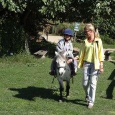 Visite de la ferme pédagogique du Dolmen