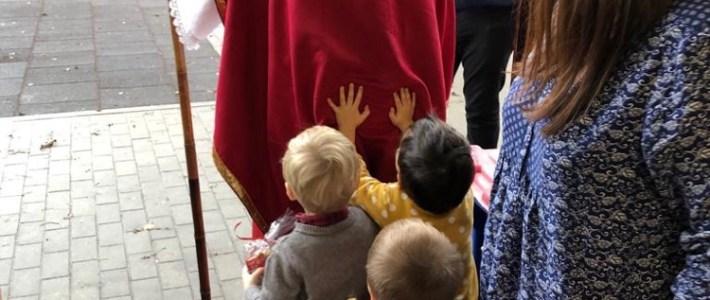 Une légende qui devient réalité une fois l'an : la Saint-Nicolas