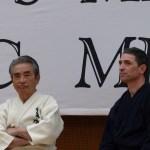 Tominaga Shozo sensei et Frédéric Méjias supervisant le travail de chacun.
