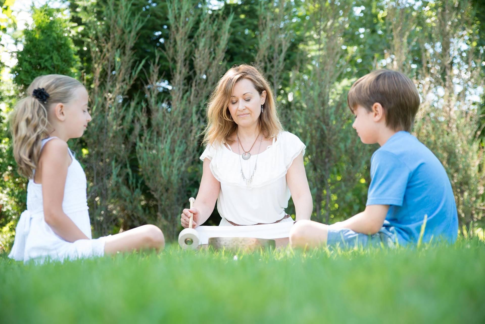 Sonothérapie et méditation à l'école privée