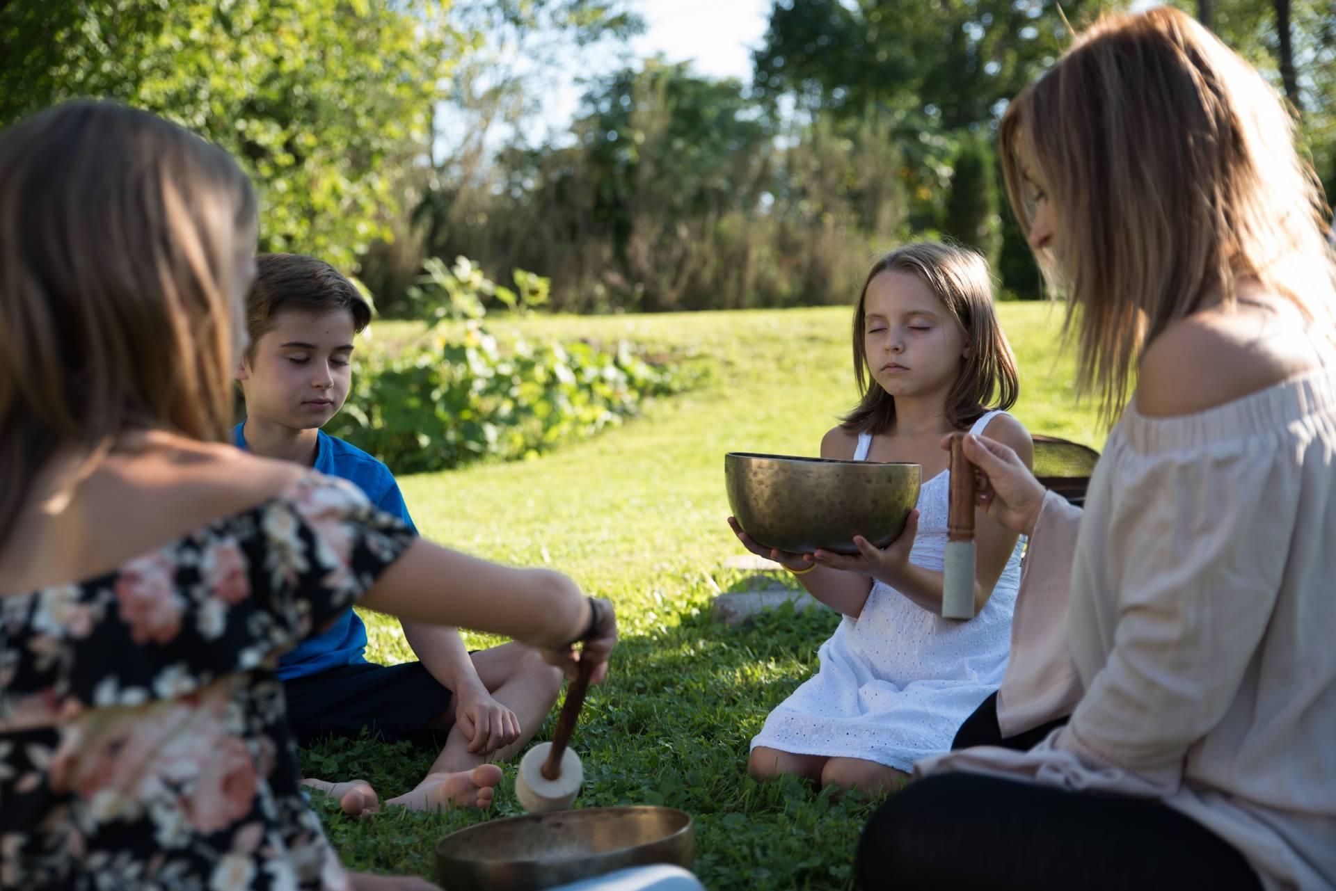 Ateliers Zen et de sonothérapie pour enfants