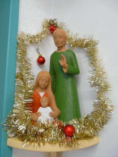 La Sainte Famille accueille les visiteurs