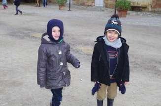 Le froid n'a pas figé les sourires !