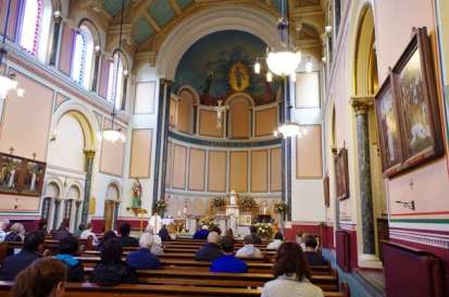 Messe à St John