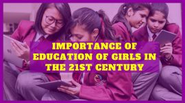 Importance of Education of Girls in the Twenty-First Century
