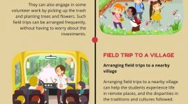 Why are field trips are important in child's education?