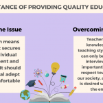 Importance Of Providing Quality Education