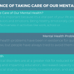 Importance of Taking Care of Our Mental Health