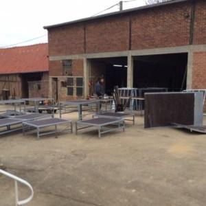 La fabrication d'un Skate Park pour MCF LILLE