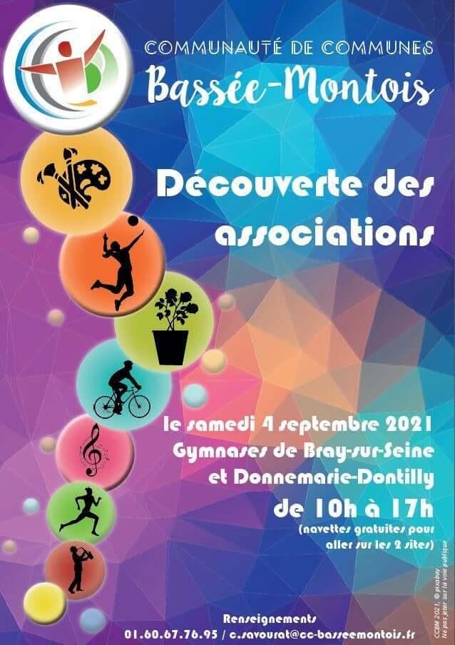 Journée découverte des associations à Donnemarie-Dontilly