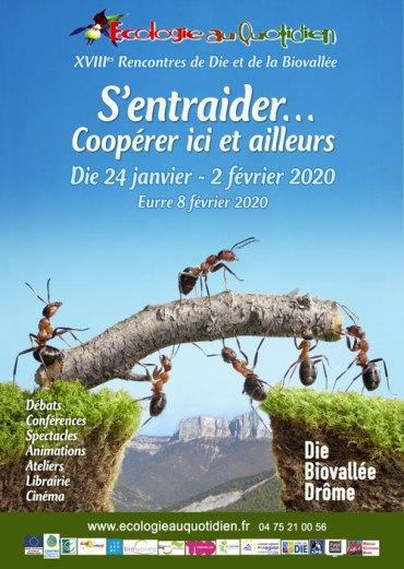 Affiche rencontres de l'écologie 2020