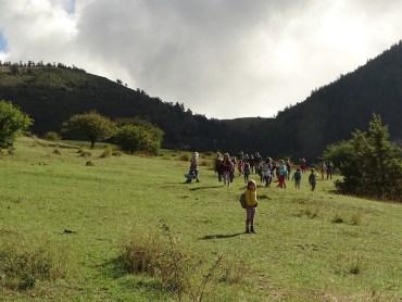 Randonnée avec les enfants au Mont Chauvet 2