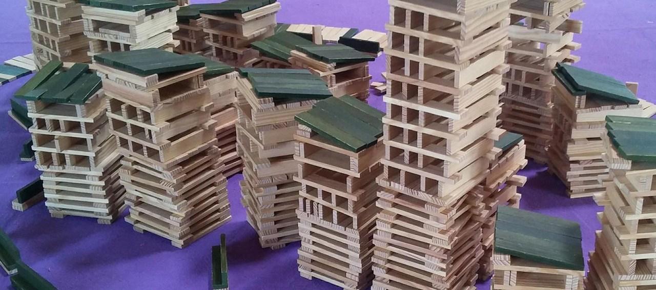 Journée Atelier Kapla, des constructions hautes en créativité