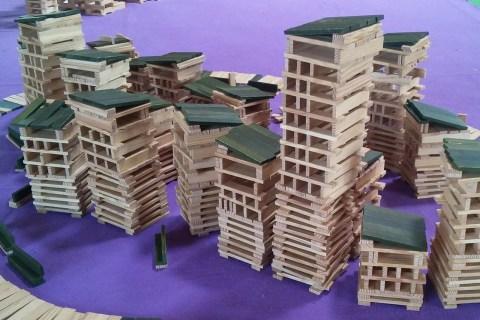 Permalink to:Journée Atelier Kapla, des constructions hautes en créativité