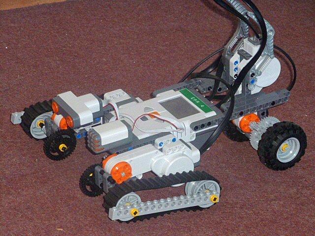 Robot grimpeur