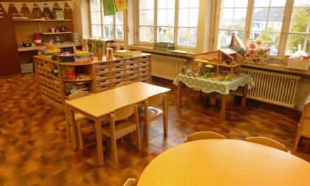 Nouvelle classe d'école enfantine