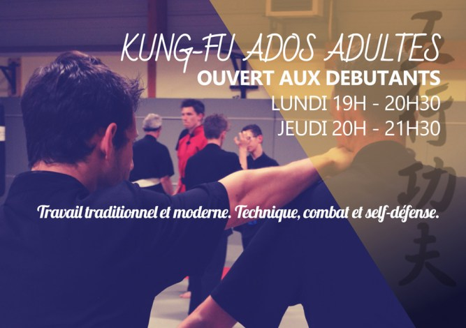 Cours de Kung-Fu Adultes Bousse