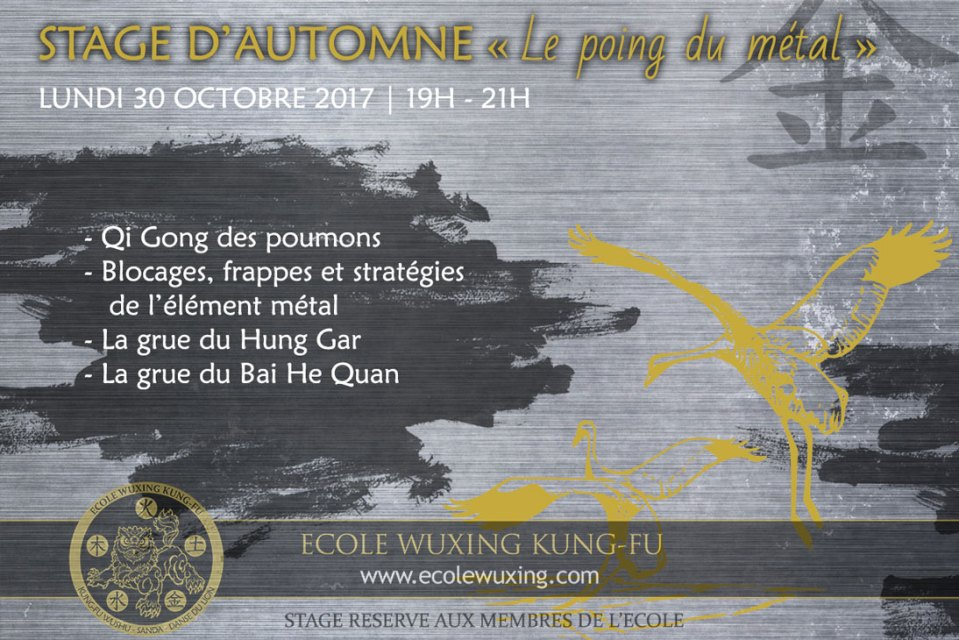 Stage Automne Metal 30 10 17