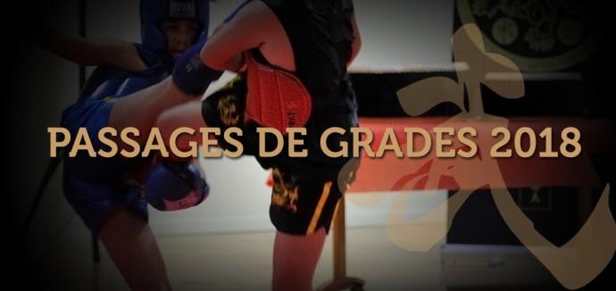 Passage de grades 2018