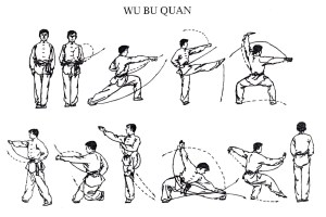 Planche Wu Bu Quan - Taolu On fait le poing 7