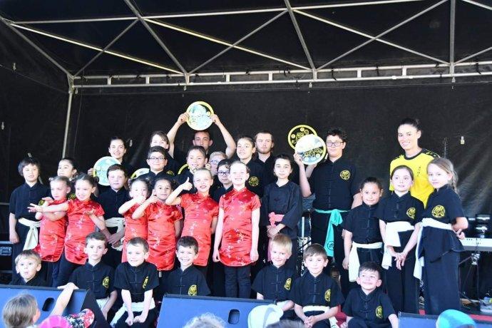 Fête de la musique 2019 Ecole Wuxing Kung-Fu