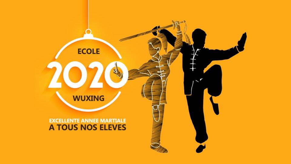 excellente année martiale 2020 à l'Ecole Wuxing