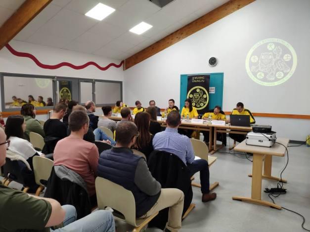 assemblée générale 2019 Ecole Wuxing Kung-Fu Bousse