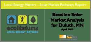 Baseline Solar Market Analysis for Duluth, MN