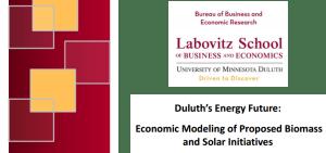 Duluth's Energy Future: Economic Modeling Report