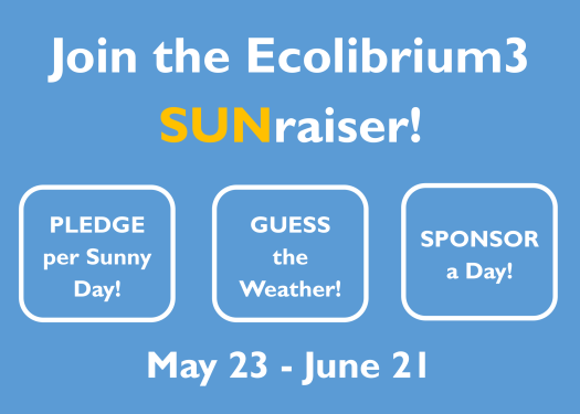 Join the Ecolibrium3 Sunraiser graphic