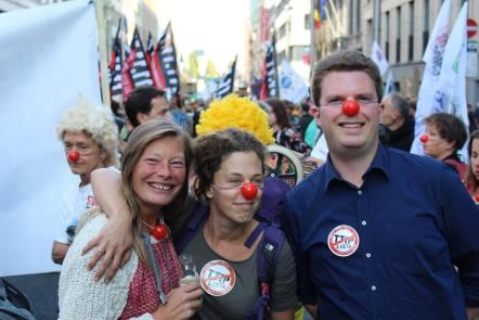 anti TTIP, une belle alliance entre politiques et citoyens..