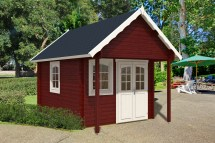 Bunkie Prefab Log Cabin Kit 150 Sqft