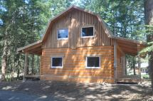 Gambrel Barn Style Log Homes