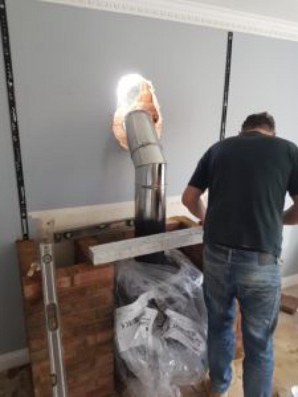 Log Burner Fitting Poole