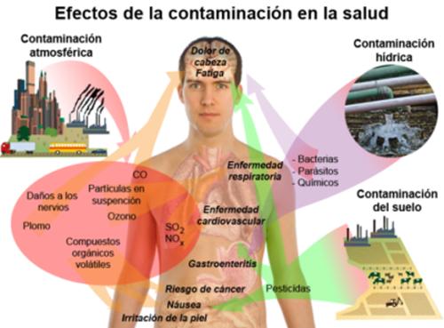 La contaminación afecta a la salud
