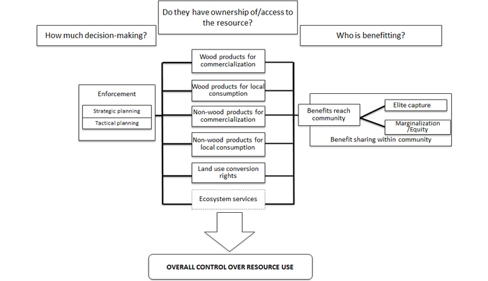 Fig. 1. Decision-making power: A conceptual framework The