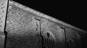 Night view of church - using infra-red camera