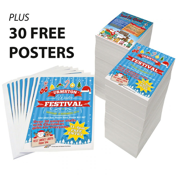 Trade Priced Leaflets 150gms Gloss A3 A4 A5 A6 DL