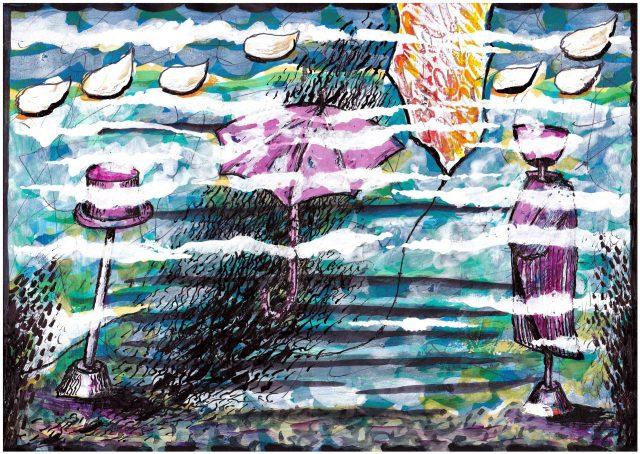 Segni e forme tra le nuvole di Carlo Iacomucci