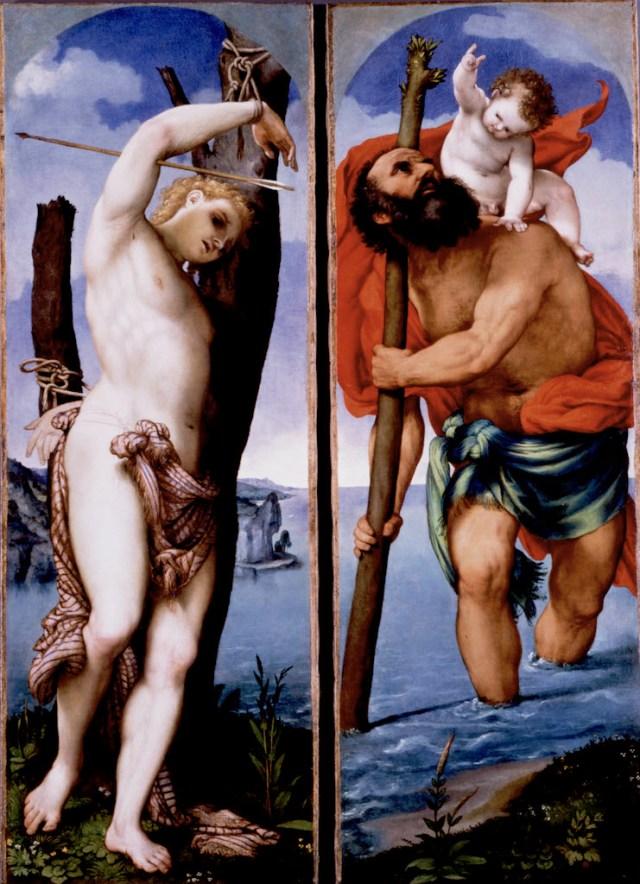 San cristoforo e san sebastiano_Lotto_ecomarchenews