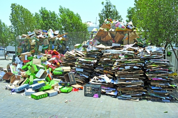 Recycling rate in Oman is still very low