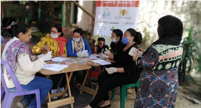health camp for zabaleen