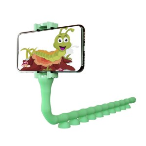 Multi-functional Caterpillar Lazy Man Bracket Creative Insect Live Mobile Phone Suction Cup Bracket Octopus Tripod