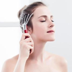 Electric Scalp Massage for Head Pain Treatment Vibrating Head Massager for Hair Loss Easy Sleeping Head SPA