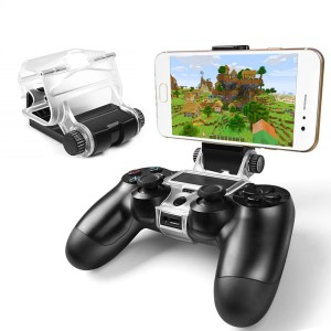 For Sony PlayStation PS4 Slim PS4 Pro Game Controller Dualshock 4 Smart Mobile Phone Clip Clamp Mount Holder G1